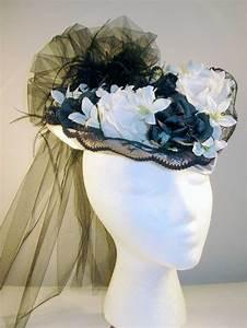 Old Ladies 39 Fancy Teardrop Promenade Hat