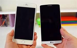 iPhone 6 vs LG G3 : le comparatif - Meilleur Mobile