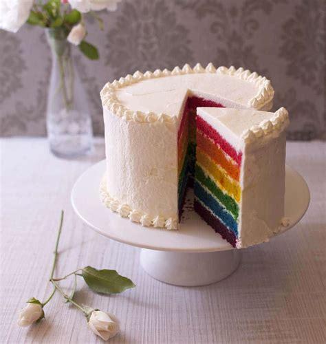 rainbow cake gateau arc en ciel recette facile les