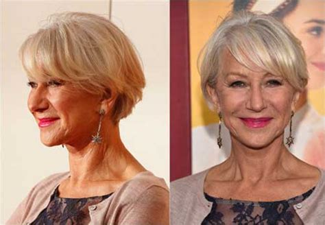 15 Short Bob Hairstyles For Over 50