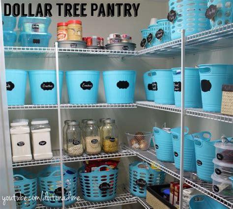 dollar tree pantry organizationpretty blue