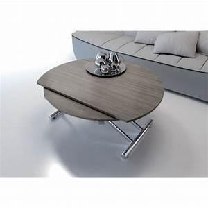 beautiful grande table basse relevable photos With attractive meuble salon noir et blanc 14 la table basse relevable pour votre salon fonctionnel