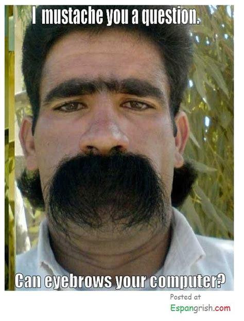 mustache   question  eyebrows  computer