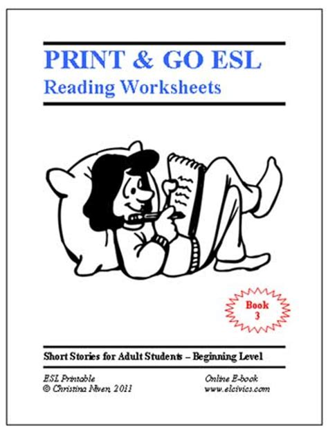 esl ebooks printable worksheets