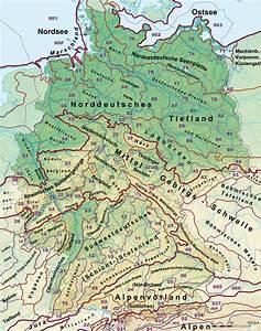 Deutschland Physische Karte : naturr umliche gro regionen deutschlands wikipedia ~ Watch28wear.com Haus und Dekorationen