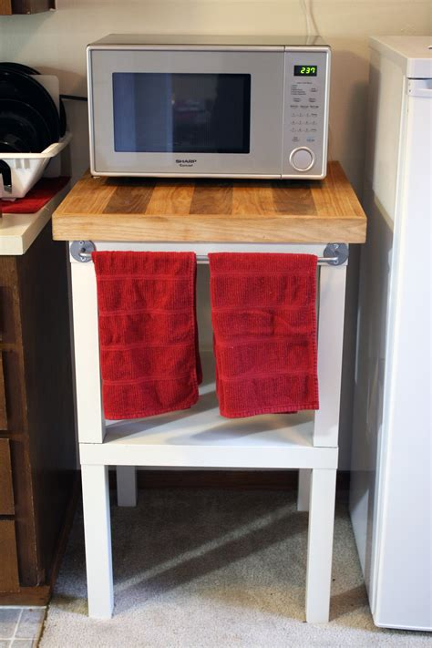 microwave stand rainy day diy