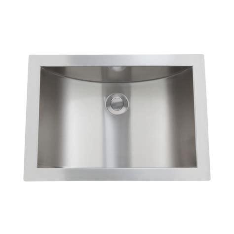Steel Bathroom Sink by 21 Quot Optimum Stainless Steel Curved Undermount Sink Bathroom