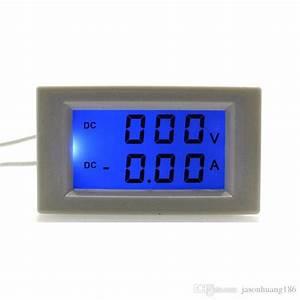 Dc0 600v  50 0a Volt Amp Tester Meter Dc Ammeter Voltmeter