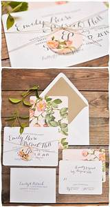 shabby chic flower design on white glossy paper for With wedding invitations paper glossy
