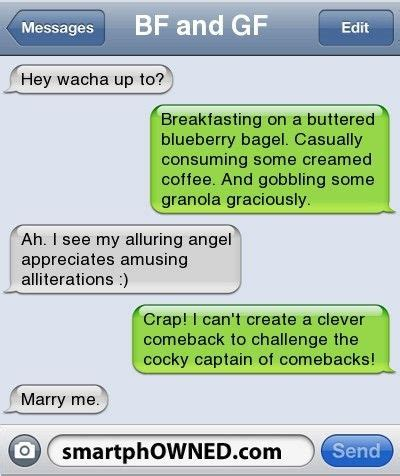 boyfriend texts google search funny text message