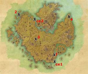 Khenarthi's Roost Treasure Map Locations Elder Scrolls