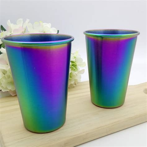 Sharks chief eduard coetzee says the pro14's new rainbow cup featuring south african teams. CupRainbow™ - Rainbow Iridescent Stainless Steel Party Cup ...