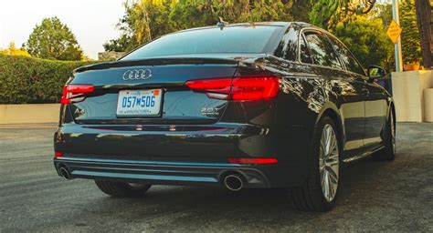 2017 Audi A4 20t Quattro Gains Sixspeed Manual Carscoops