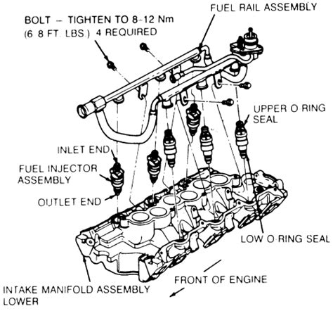 1996 Ford Explorer Fuel Line Wiring by 1991 Ford Ranger 3 0 A Diagram Of Where The Vacuum Lines Go