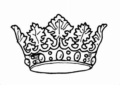 Crown Template Templates Felt Colouring