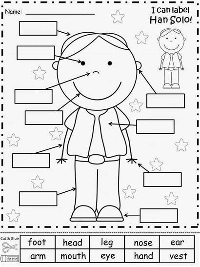 Coloring Parts Pages Spanish