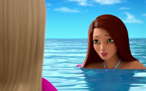 barbie dolphin magic youre  mermaid barbie