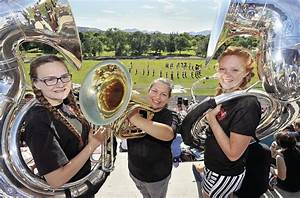 Tuba is instrument of choice for Highland girls | Members ...