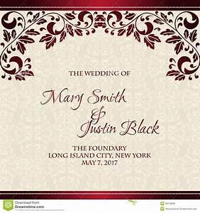 Card invitation samples wedding cards invitation modern for Wedding invitation design red motif