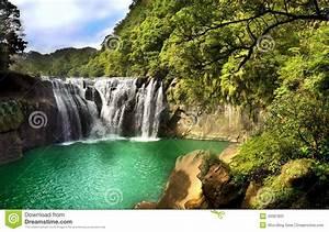 Waterfall Scenery Stock Photo - Image: 43397831