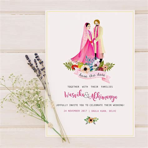 Jodhaa Akbar Traditional Indian Wedding Save The Date