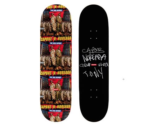 supreme skate deck replica 187 decks supreme fall winter 2016
