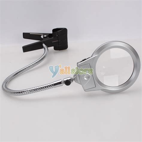 table top magnifying glass lighted table top desk magnifier magnifying glass with