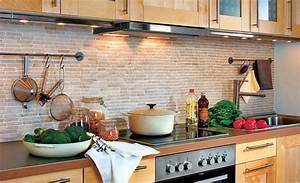 Küche Statt Fliesen : fliesenspiegel ohne fliesen k chenr ckwand marmor und k che holzoptik ~ Bigdaddyawards.com Haus und Dekorationen