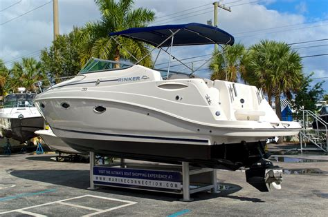 Used Rinker Boats For Sale by Used 2012 Rinker 260 Ec Express Cruiser Boat For Sale In