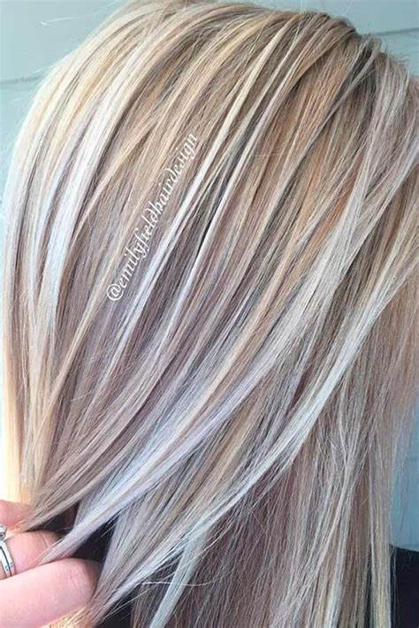 Different Highlight Shades by 50 Platinum Hair Shades And Highlights For 2019