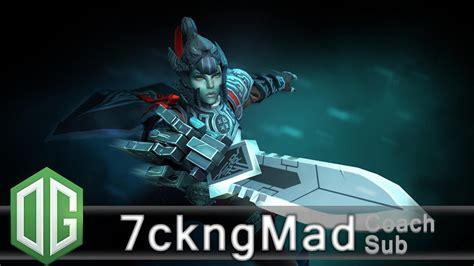 og 7ckngmad phantom assassin gameplay ranked match og dota 2 youtube