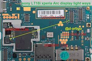 Sony Ericsson Xperia Arc Lt18i Lcd Display Light Ic