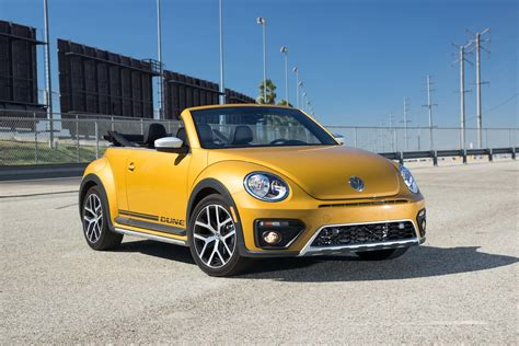 bug volkswagen 2017 volkswagen beetle dune convertible first test review