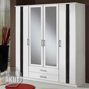 Kleiderschrank Schwarz Weiß : kleiderschrank hit wei schwarz hochglanz 180cm ebay ~ Orissabook.com Haus und Dekorationen
