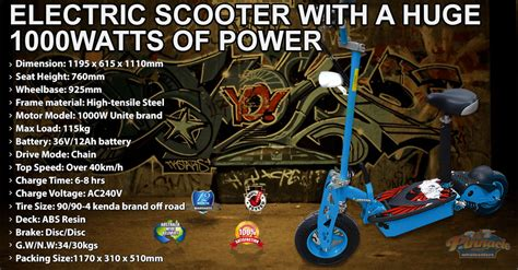 super fast model  ultimate electric scooter