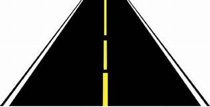 Road Straight Clipart Roads Clip Transparent Cliparts