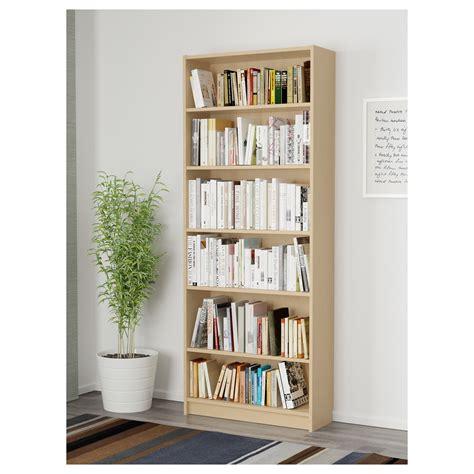 Misure Libreria Billy by Billy Bookcase Birch Veneer 80x28x202 Cm Ikea