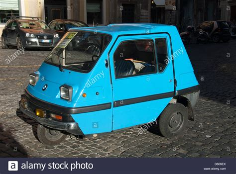 Car With 3 Wheels by A Small Three Wheeled Car Stock Photo Royalty Free Image