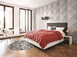 tendance papier peint pour chambre adulte 5 40 id233es With tendance papier peint pour chambre adulte