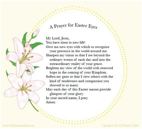 So today we praise you for your endless goodness and provision. Easter Blessings - Saint Ambrose School | Brunswick, Ohio