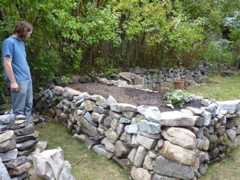 Hochbeet Selber Bauen Stein stein hochbeet selber bauen vorgehensweise und andere