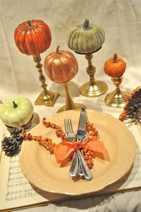 gild  pumpkin   festive fall centerpiece