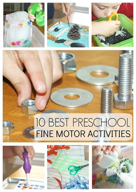preschool motor activities for pre writing skills 869 | 10 Back to School Preschool Fine Motor Activities