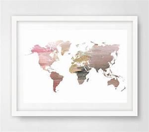 Affiche Carte Du Monde : les 25 meilleures id es de la cat gorie carte murale du ~ Dailycaller-alerts.com Idées de Décoration