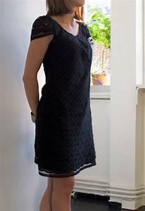 couture robe noire tuto a partir de la petite robe de With robe folk vanessa pouzet