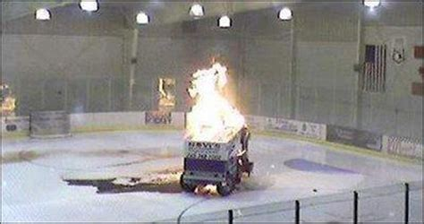 hockey life  europe zamboni breaks  morning
