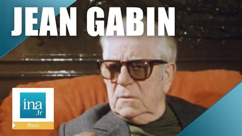 jean gabin dernier film la derni 232 re interview de jean gabin archive ina youtube