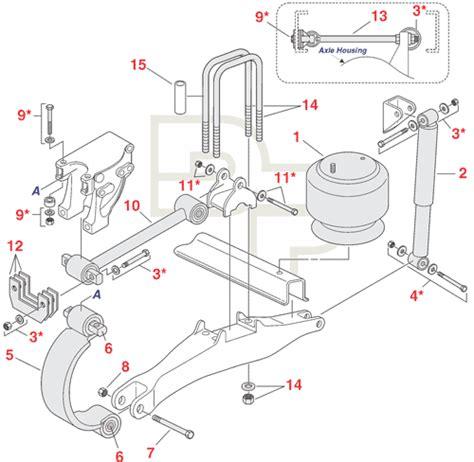 Semi Truck Suspension Parts Diagram