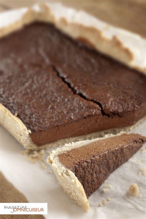tarte au chocolat pate brisee recette tarte au chocolat sans gluten sans lait omnicuiseur