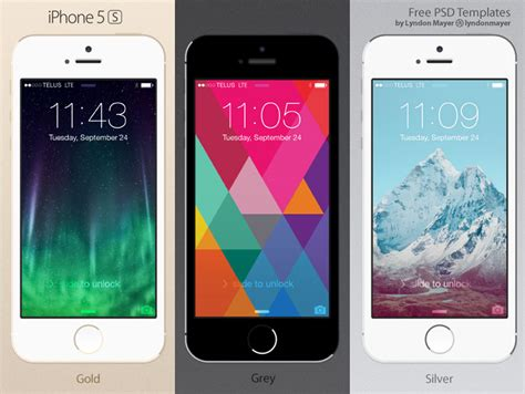 iphone 5s free best collection of iphone mockup templates css author
